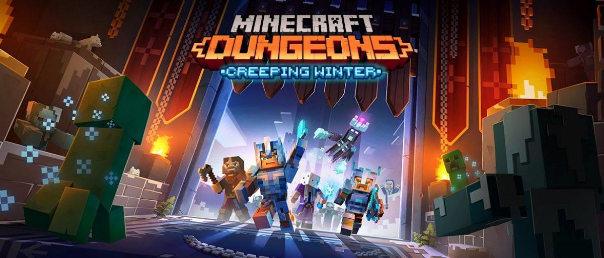 Minecraft Dungeons: Neue Gegner und Abenteuer im Creeping Winter DLC HERO