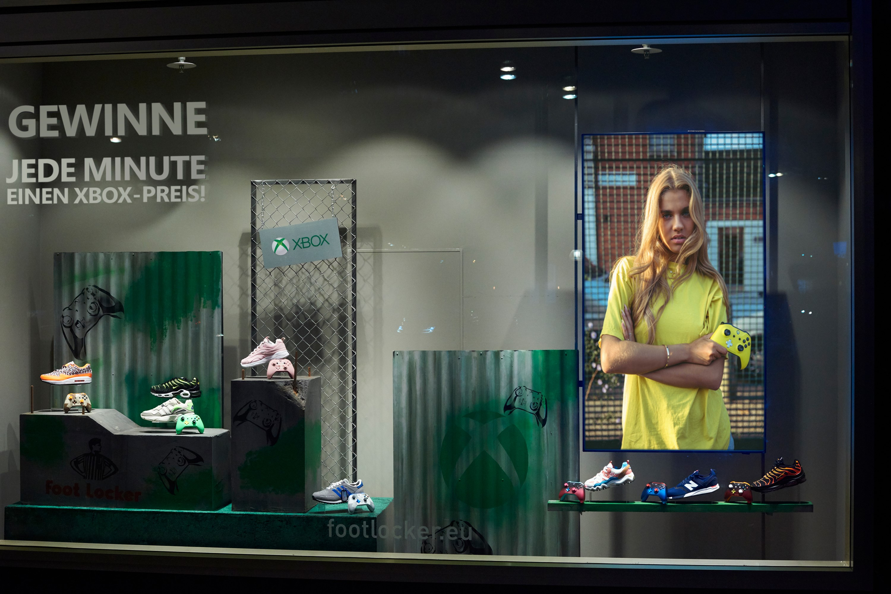 Video For Foot Locker-Partnerschaft: Tolle Xbox-Preise beim Sneaker-Kauf