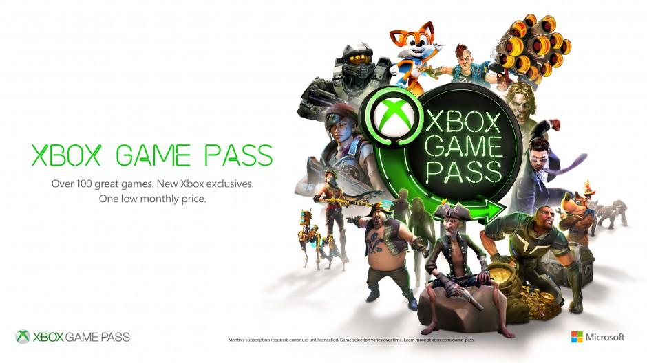 Xbox Game Pass Character Breakout Horizontal White