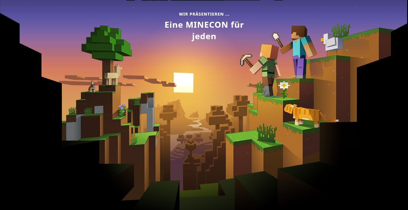 Video For Minecon Earth 2017: Sei dabei im interaktiven Livestream