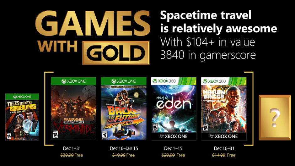 Video For Bundle up Next to December's Games with Gold