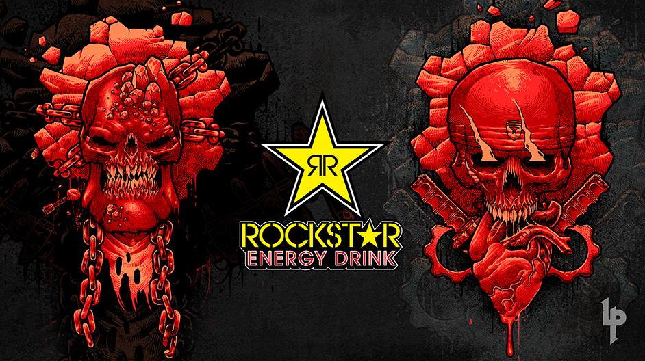 Gears Rockstar Energy