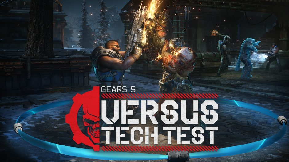Video For Gears 5 Versus Multiplayer Tech Test Available Today