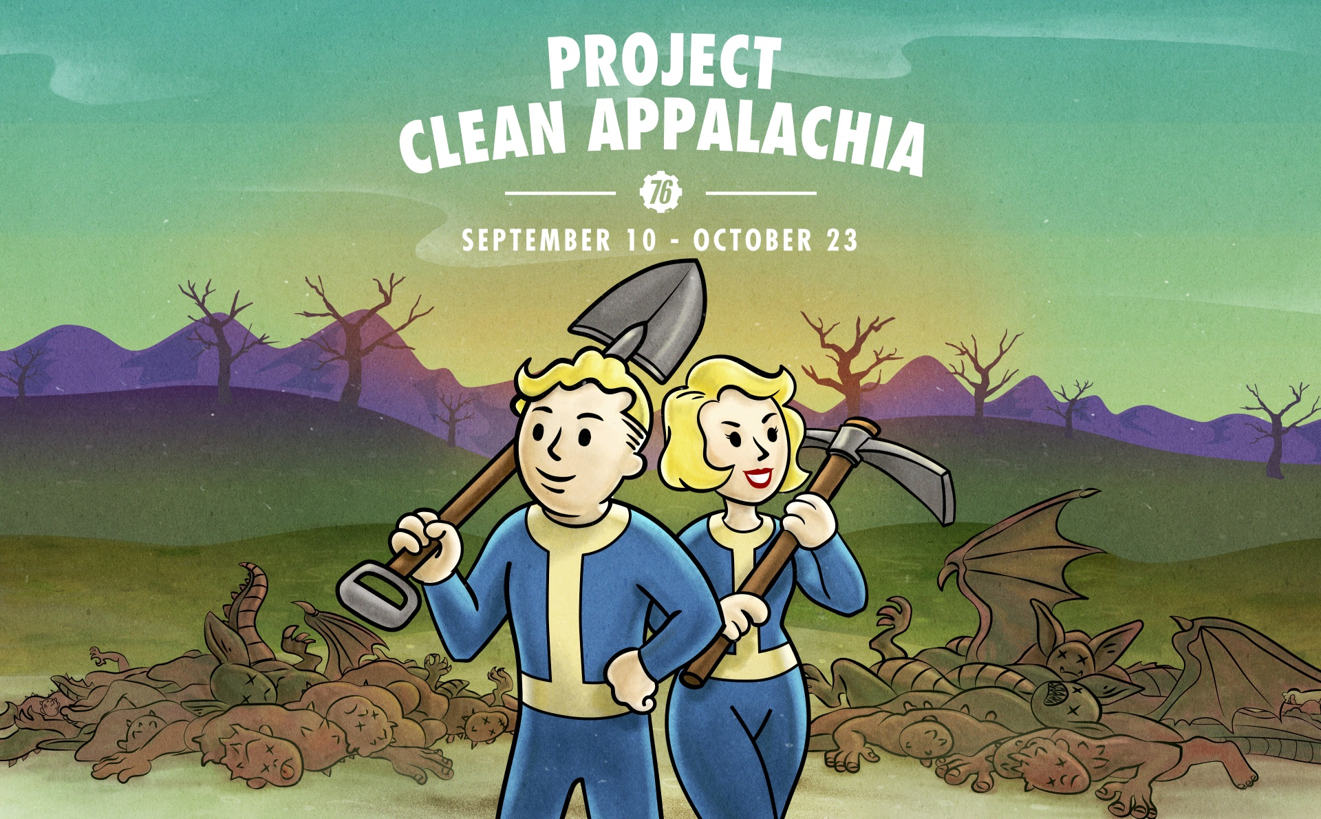 Fallout 76 - Project: Clean Appalachia