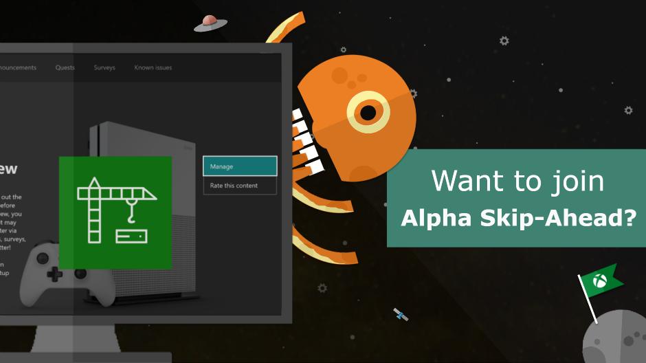 Alpha Skip-Ahead Invitation