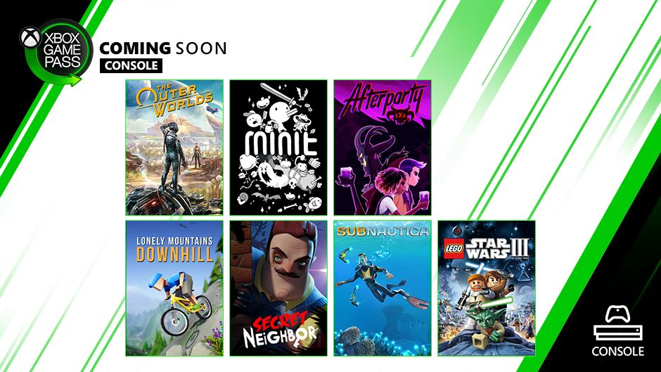 Xbox Game Pass Update