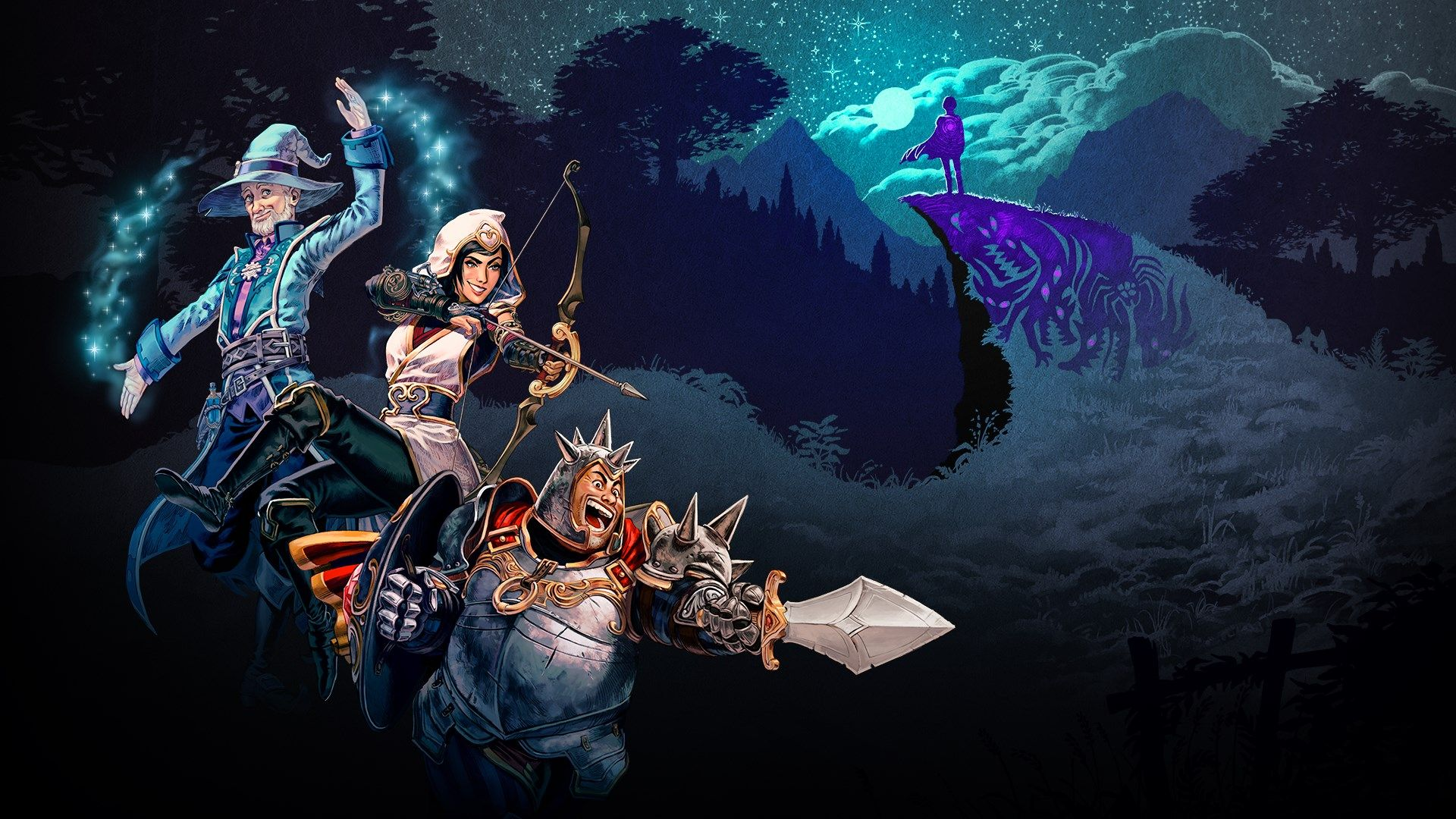 Video For The Gorgeous Co-Op World of Trine 4, Out Now on Xbox One
