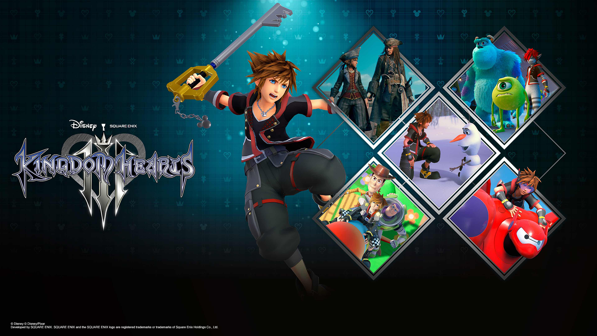Kingdom Hearts Key Art