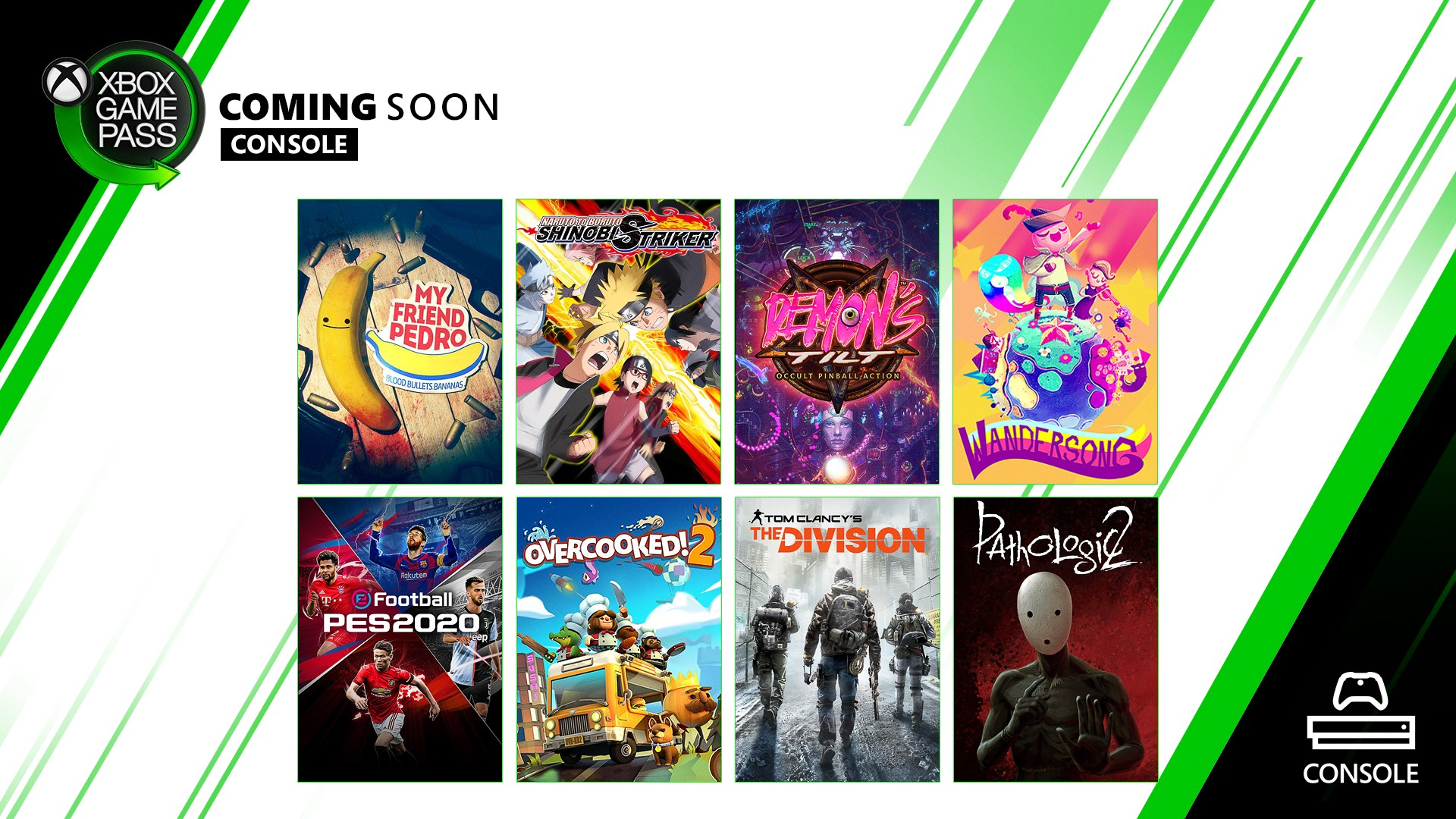 Xbox Game Pass - Console - December 2019