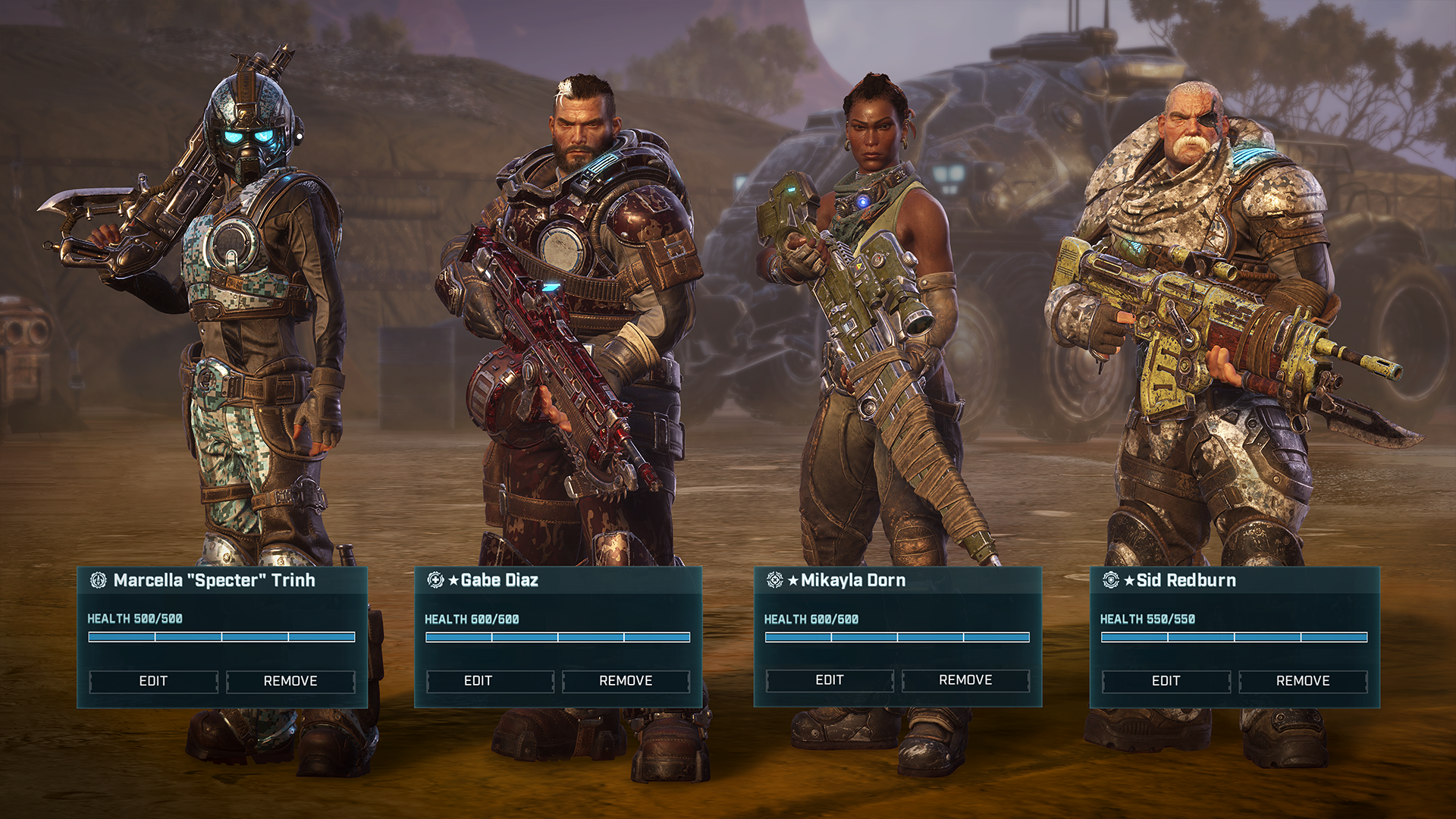 Gears Tactics – The Game Awards