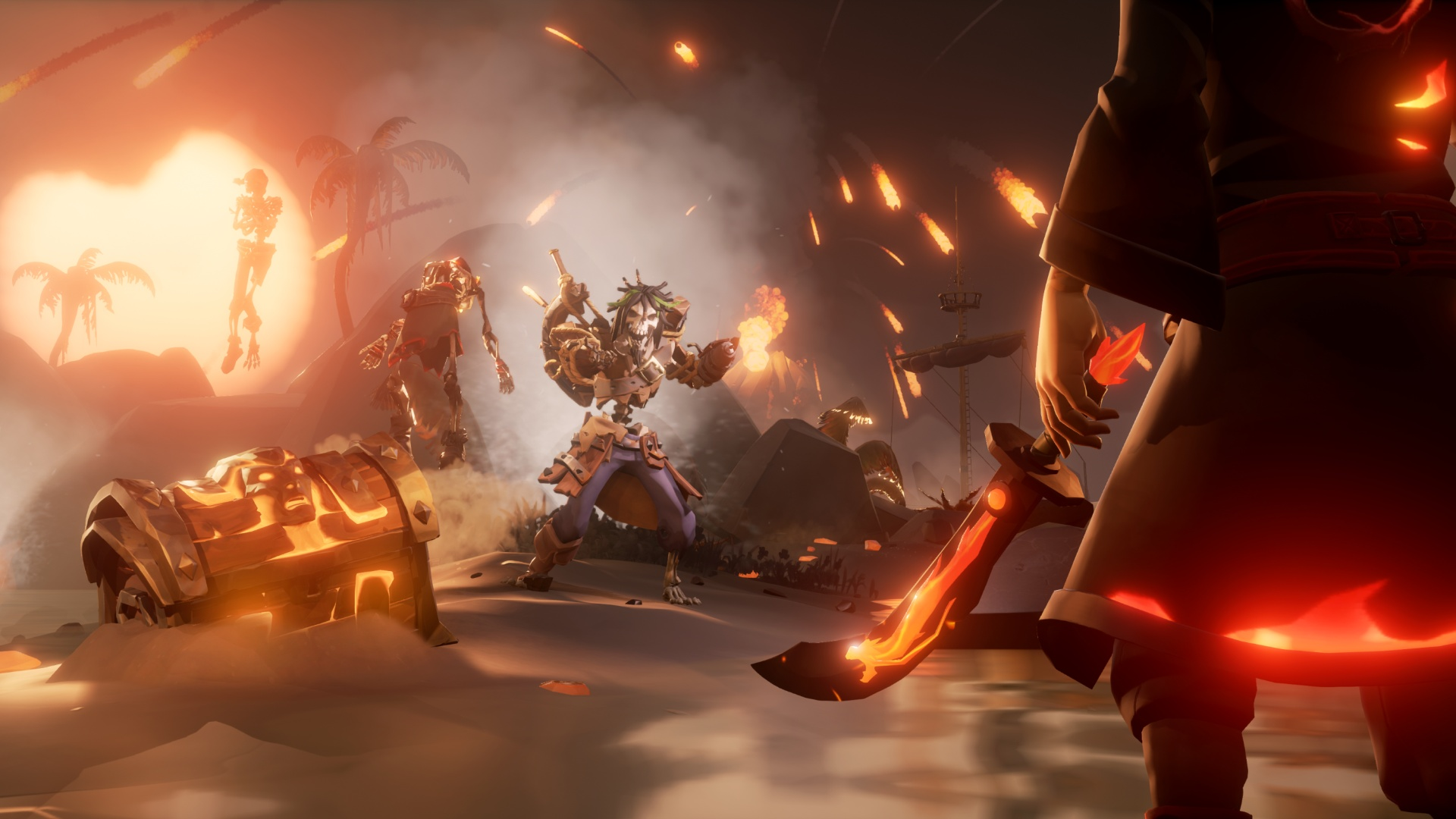 Video For Bring the Fire and Fury with Sea of Thieves' Free Crews of Rage Update