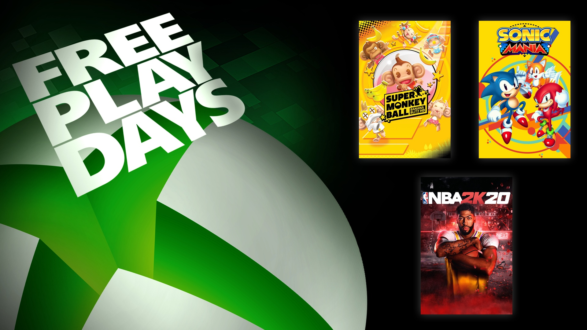 Xbox Live Gold Free Play Days
