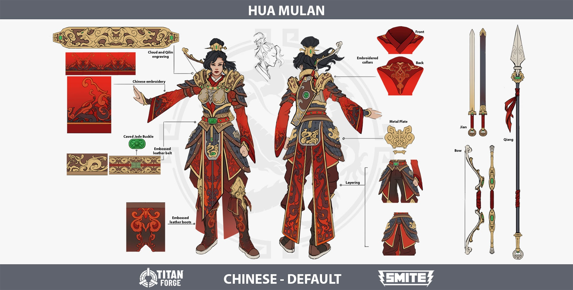 New Smite Goddess Mulan Ascends To The Battleground Of The Gods Xbox Wire