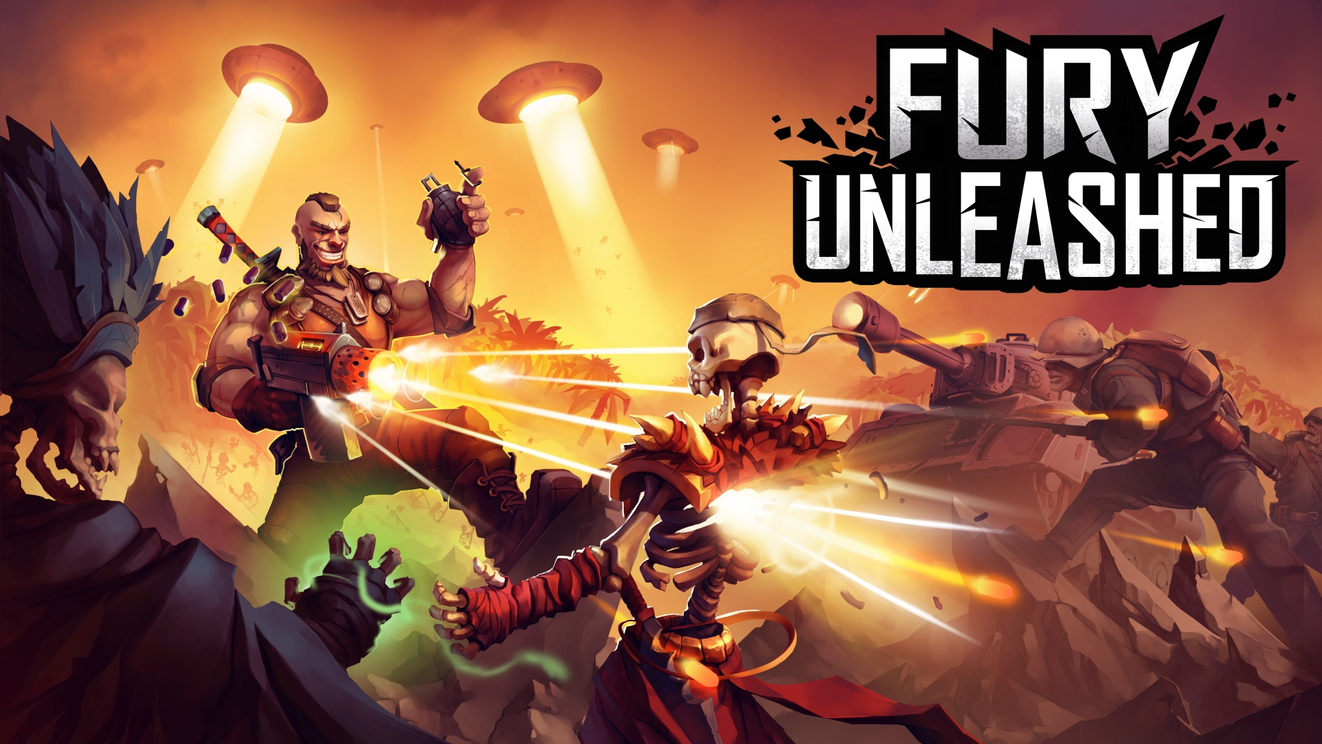 Video For Rougelite Action Platformer Fury Unleashed Coming to Xbox One May 8
