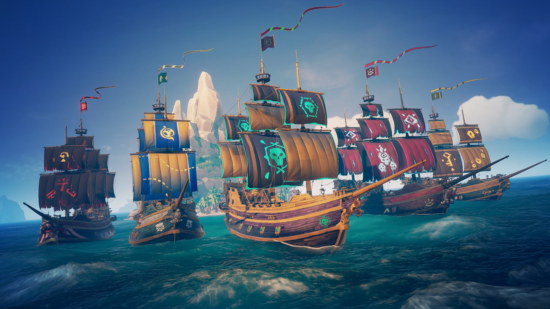 Video For Ships of Fortune Upgrades Sea of Thieves' Trading Companies April 22