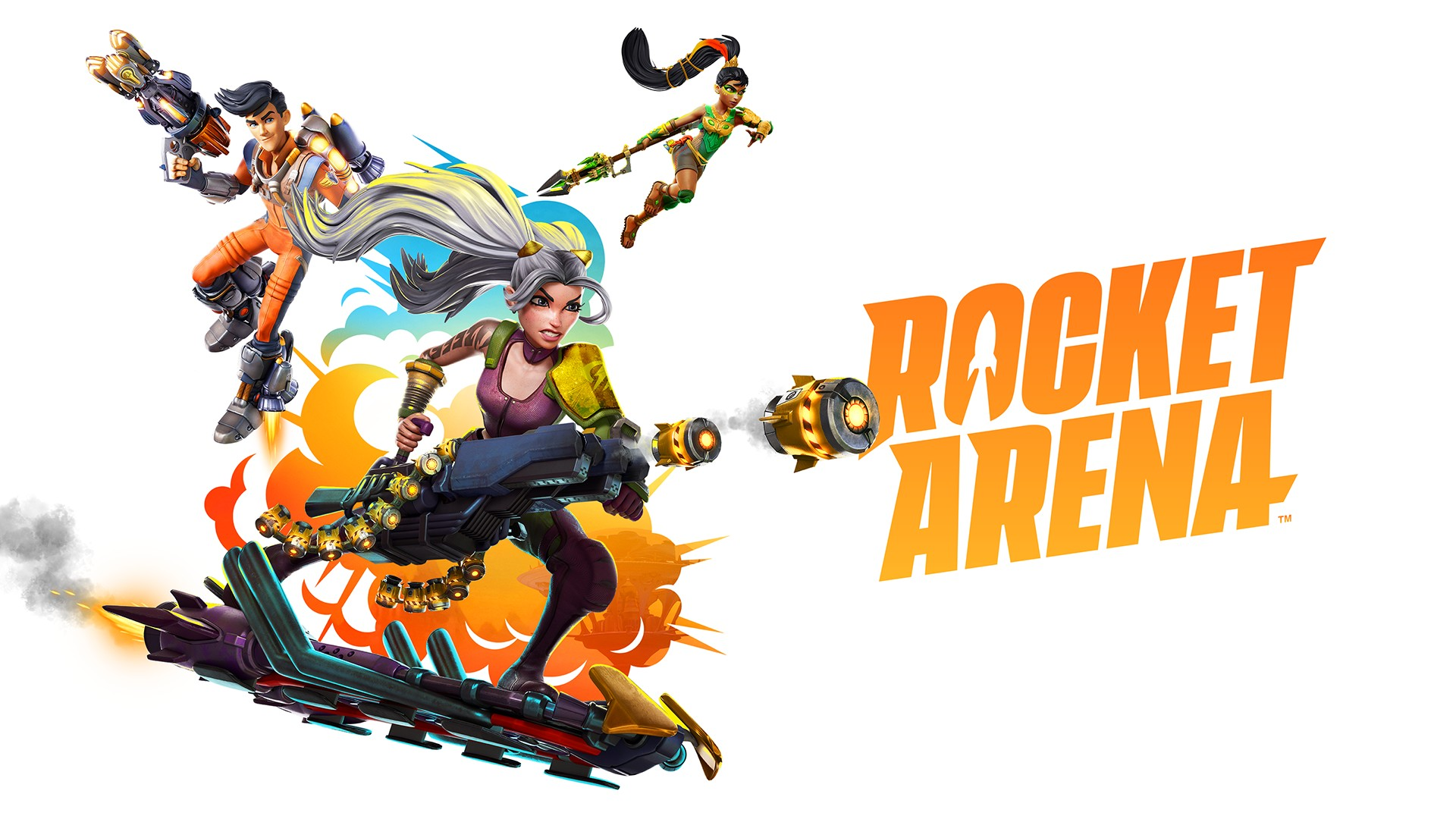 Video For Launch into the Fray with Rocket Arena on Xbox One