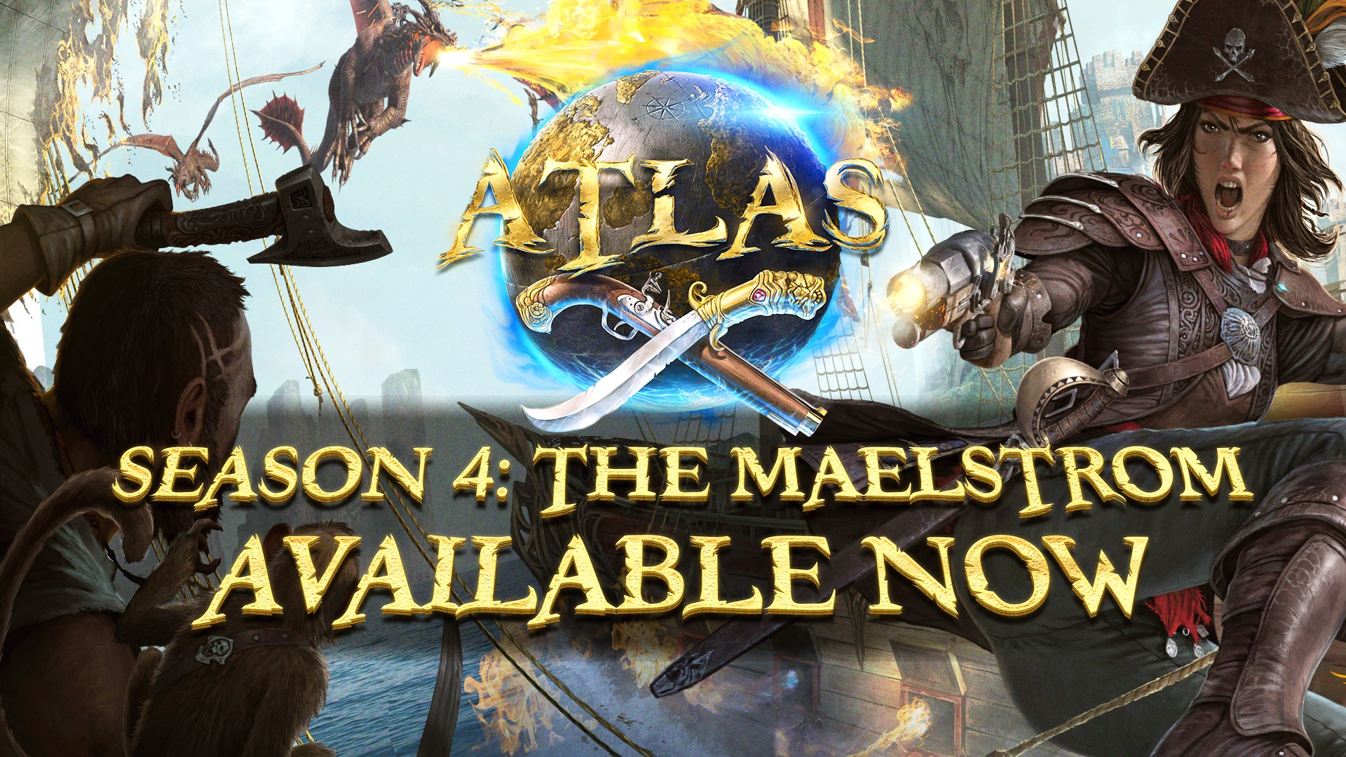 Video For Atlas – The Maelstrom Map Now Available on Xbox One