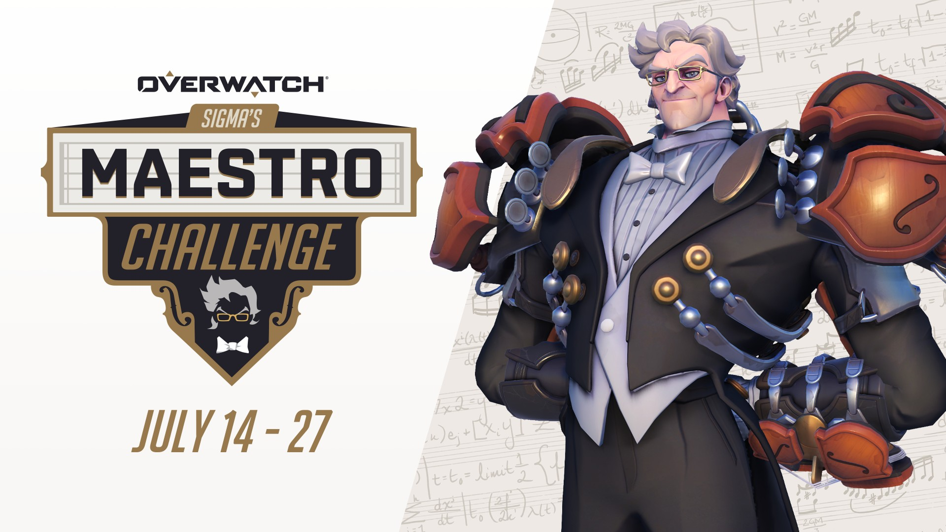 Video For Earn Epic Overwatch Rewards in Sigma's Maestro Challenge, Now Live on Xbox One