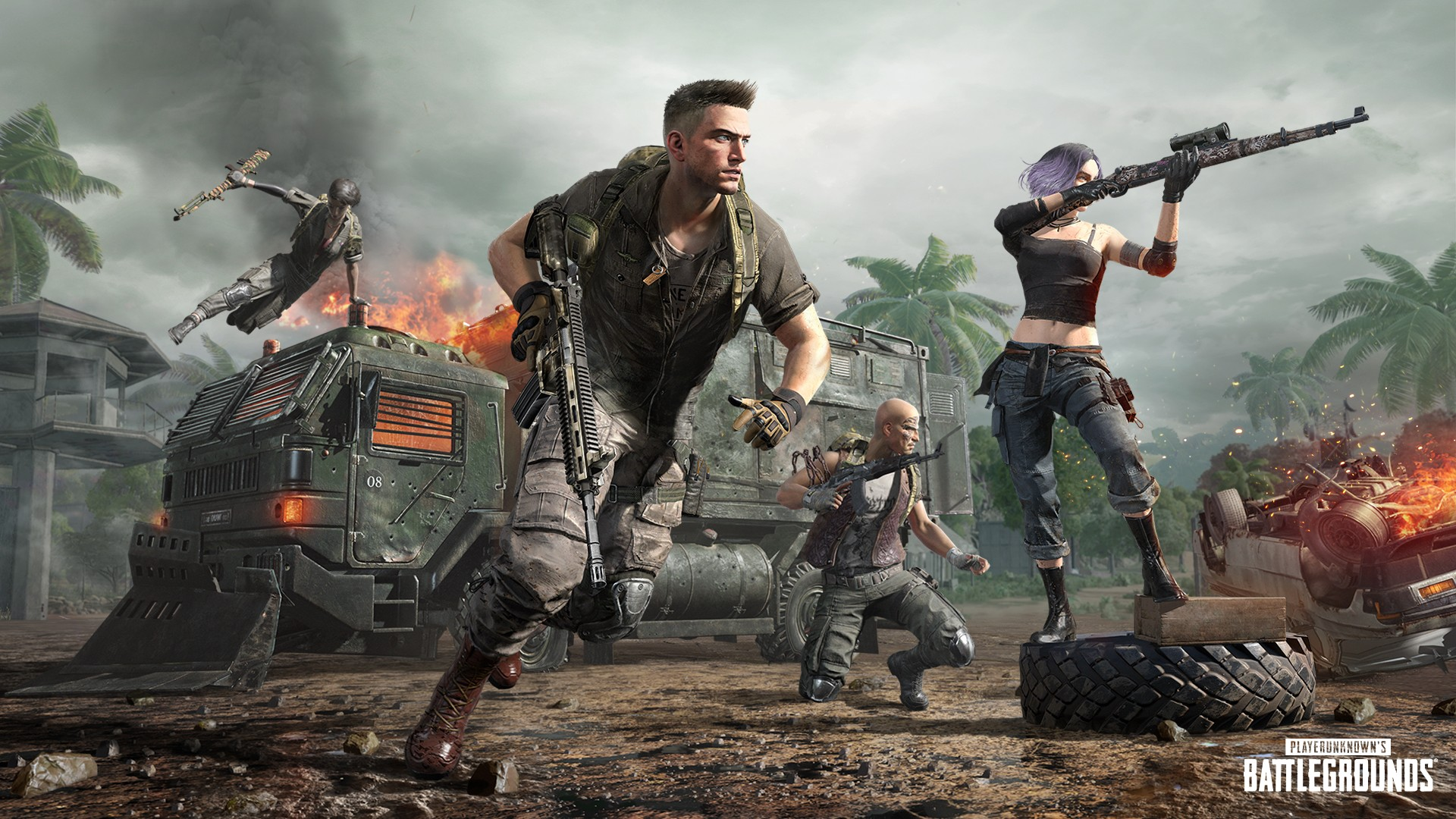 Video For Drop into PUBG Season 8 and Experience the Remastered Sanhok, Loot Truck, and Survivor Pass