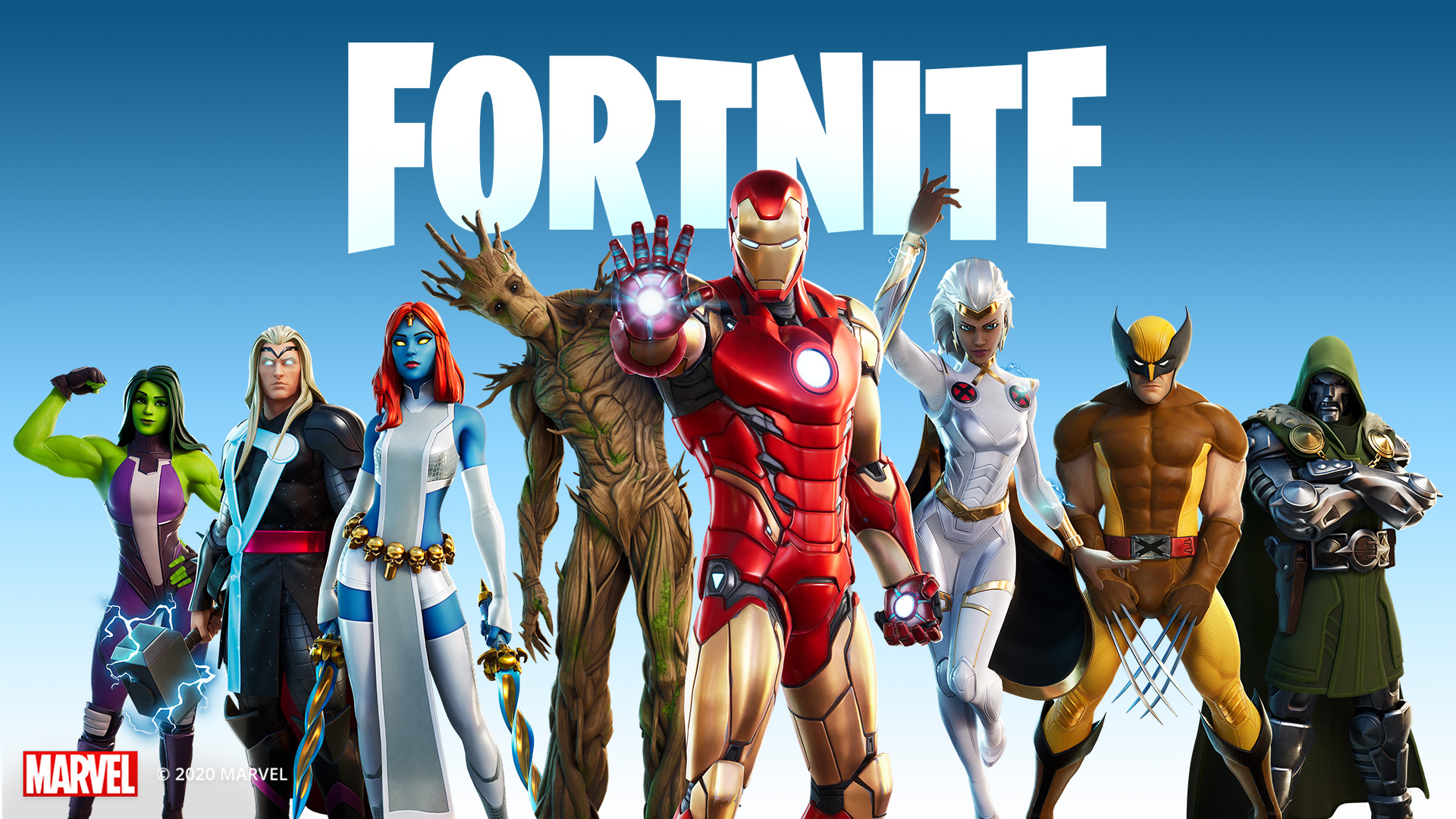 Video For Join Forces with Marvel Heroes and Villains in Fortnite Chapter 2 – Season 4