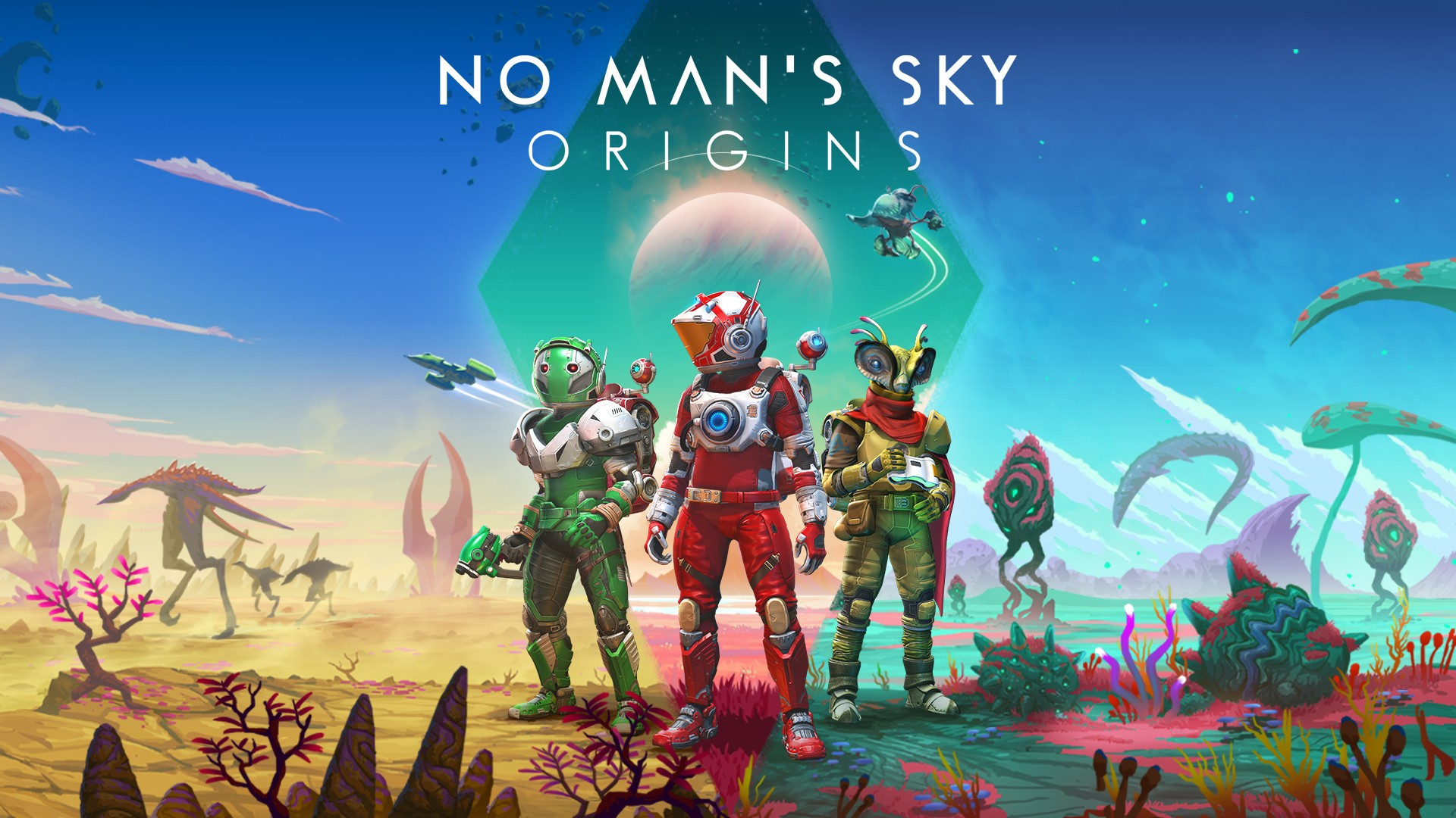 Video For Explore a Stranger, Richer, and More Diverse Universe Today in No Man's Sky: Origins