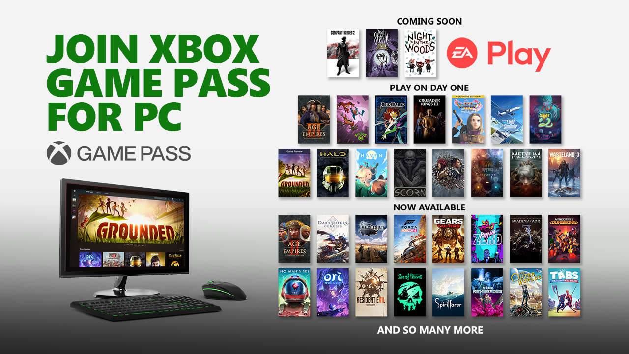 Still Image_Xbox Game Pass_4_EA Play + Xbox Game Pass for PC