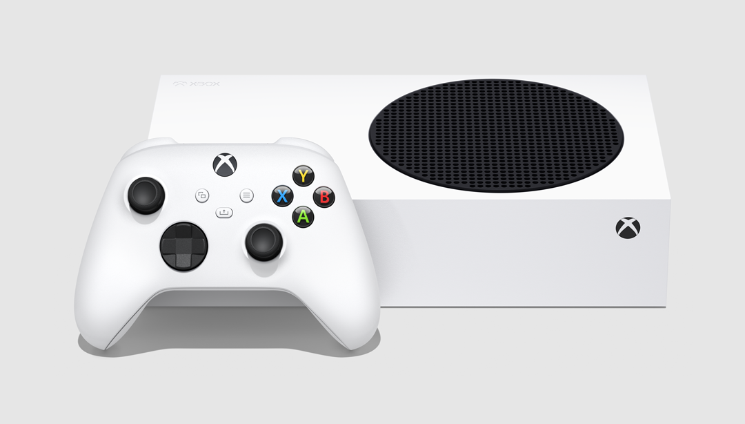Still Image_Xbox Series S_5_ Horizontal View_Console + Controller