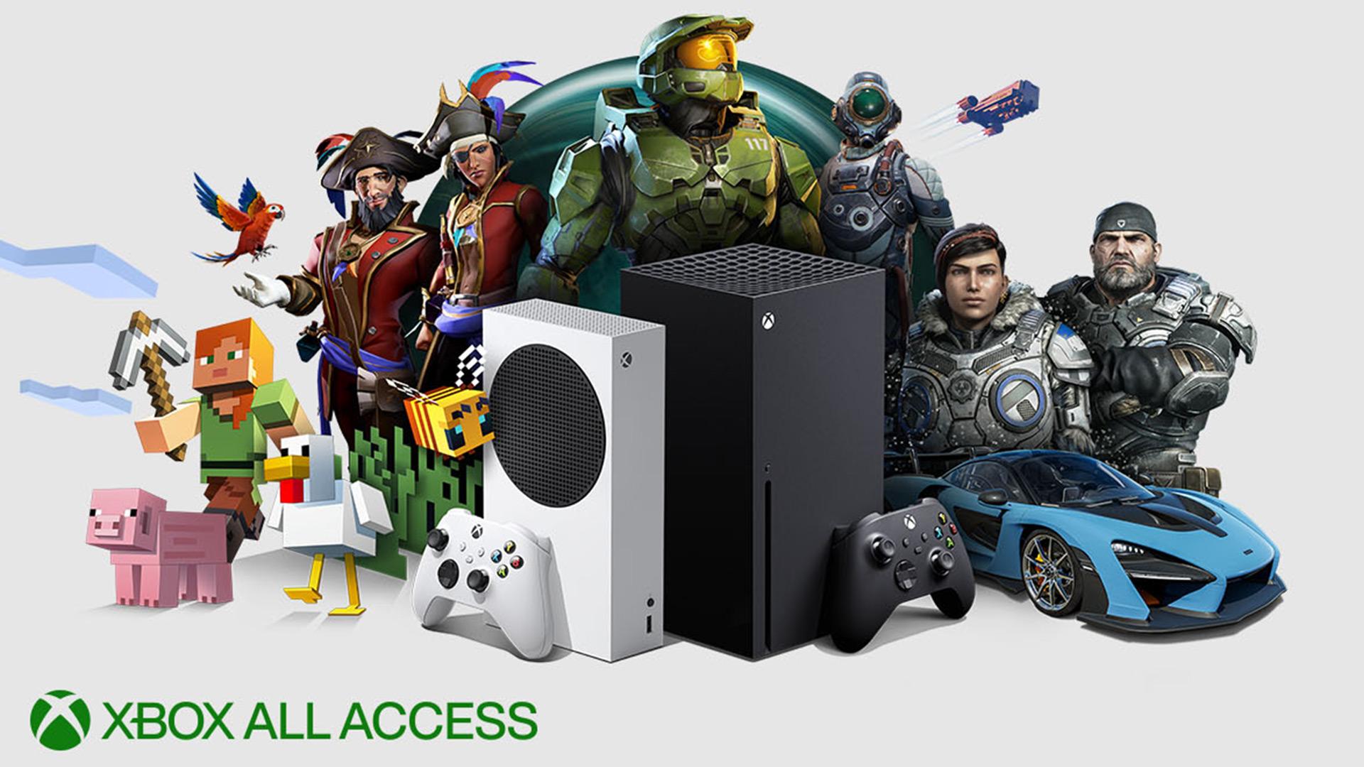 Xbox All Access Hero Image