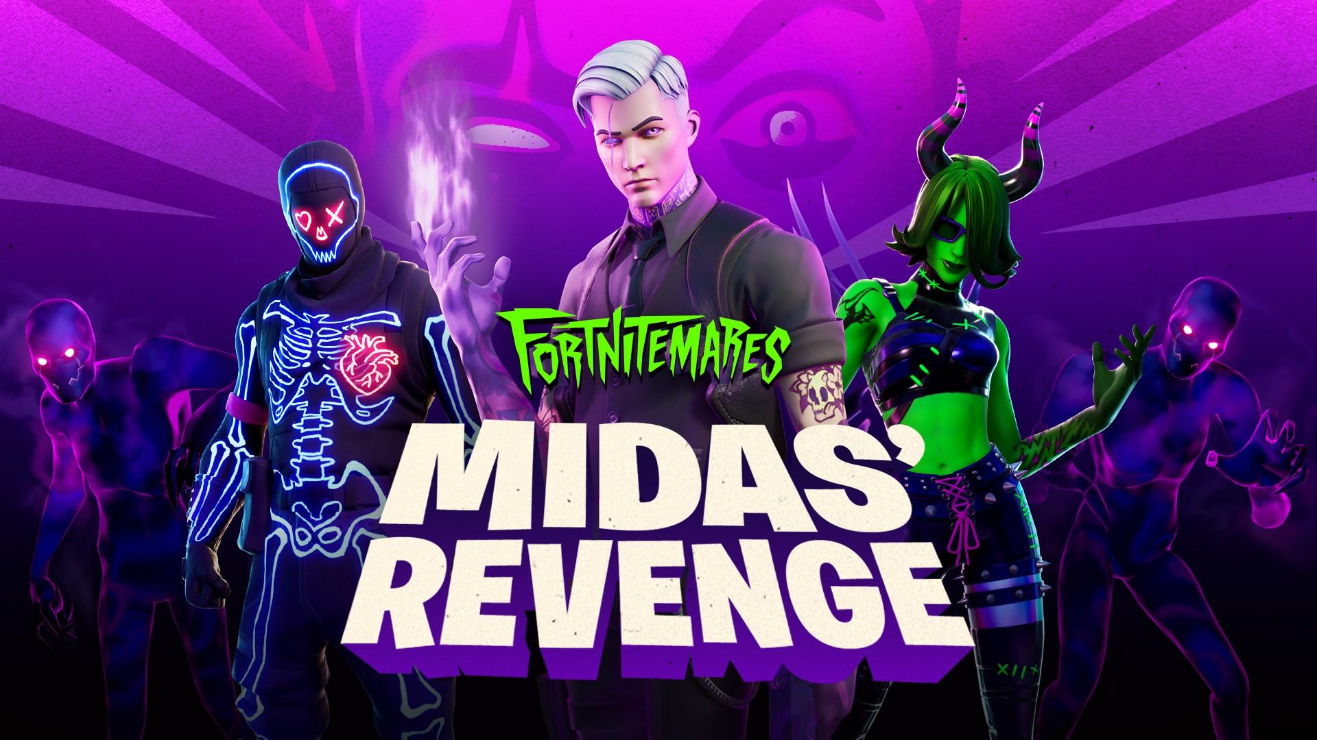 Fortnitemares 2020: Midas' Revenge