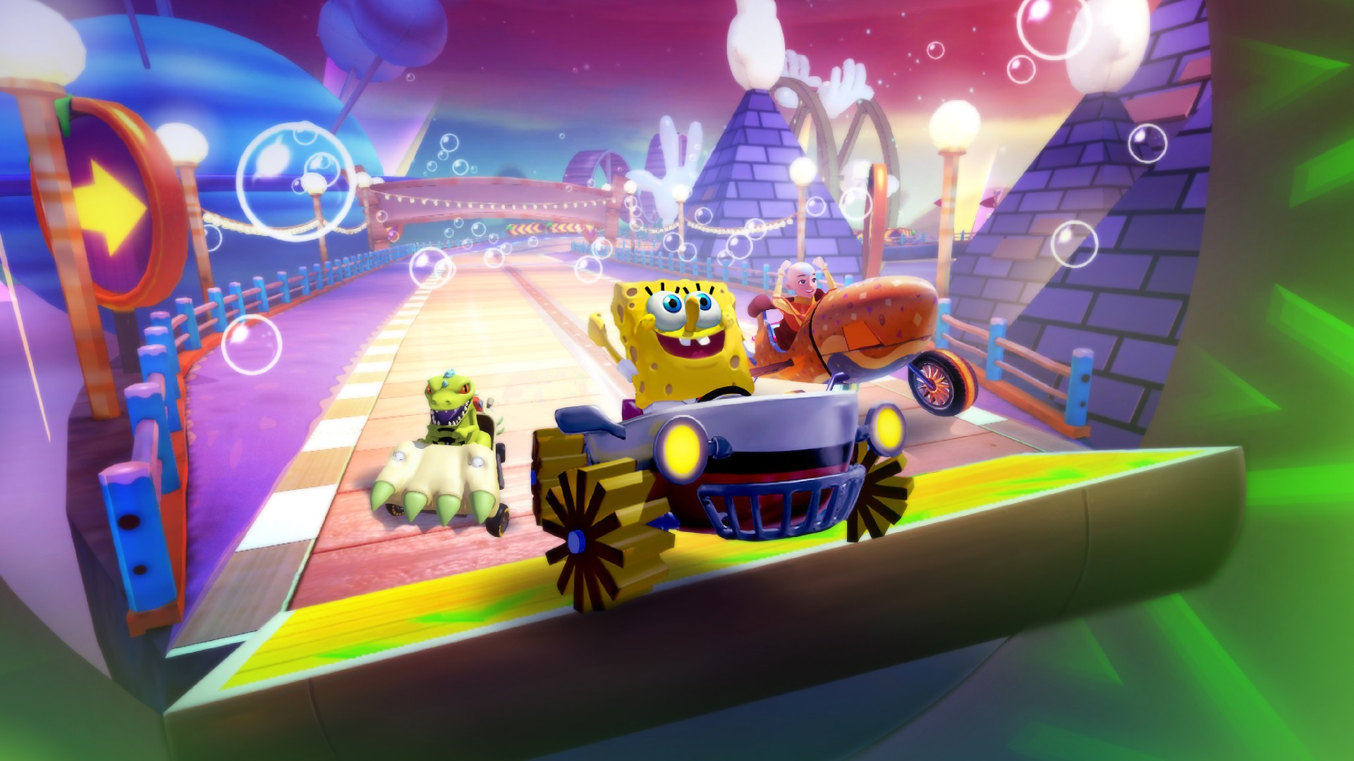 Video For 30 Playable Racers and 70 Pit Crew Members Featured in Nickelodeon Kart Racers 2, Available Now on Xbox One
