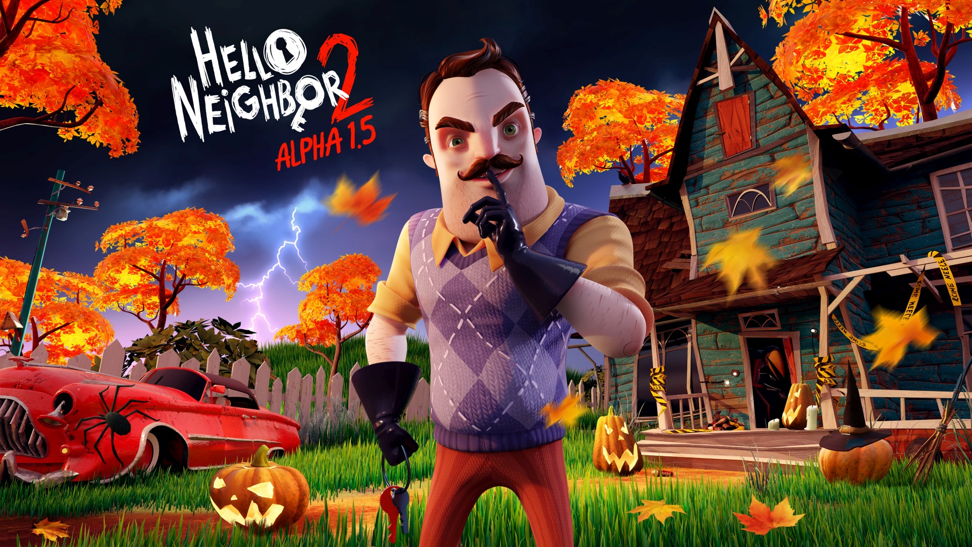 Video For Hello Neighbor 2 Alpha 1.5: Spooky Scary Raven Brooks