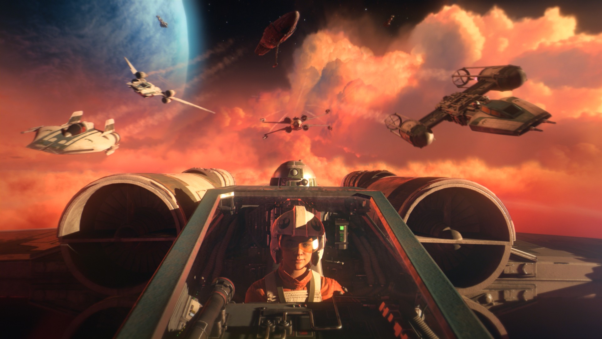 Choose Your Wings in Star Wars: Squadrons, Available Now on Xbox One