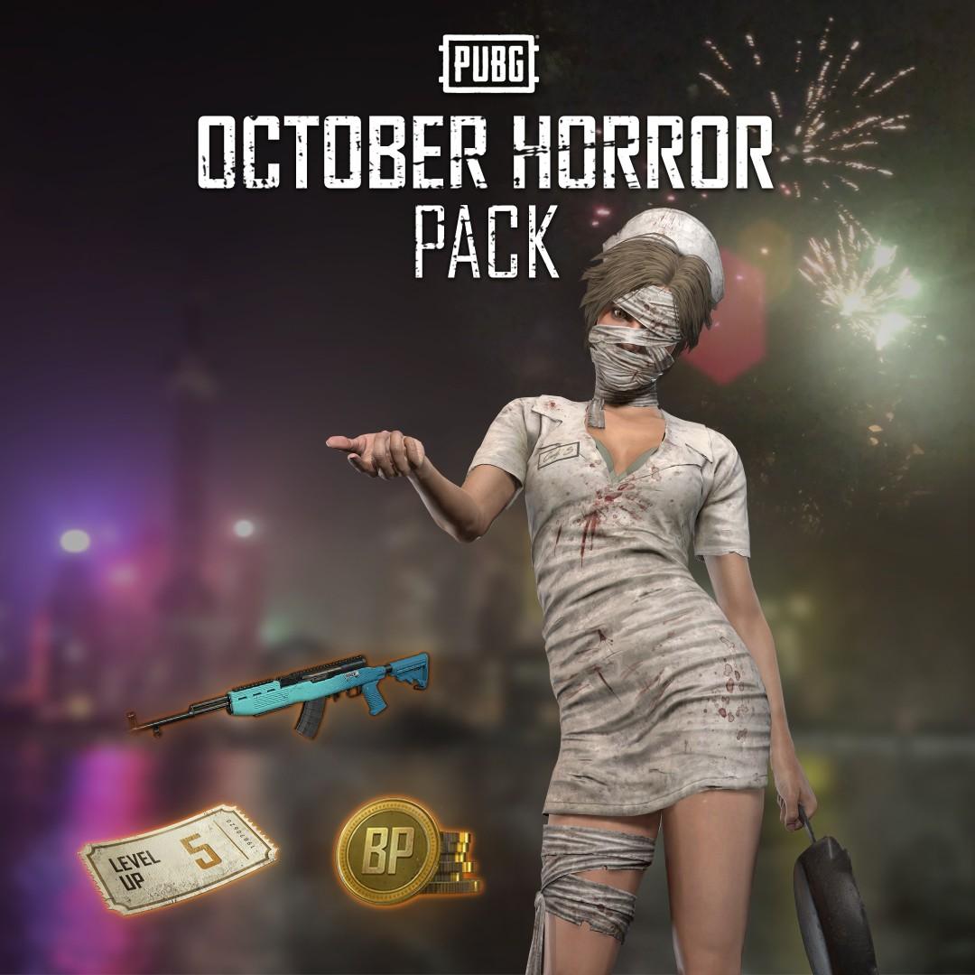 PUBG - October Horror Pack