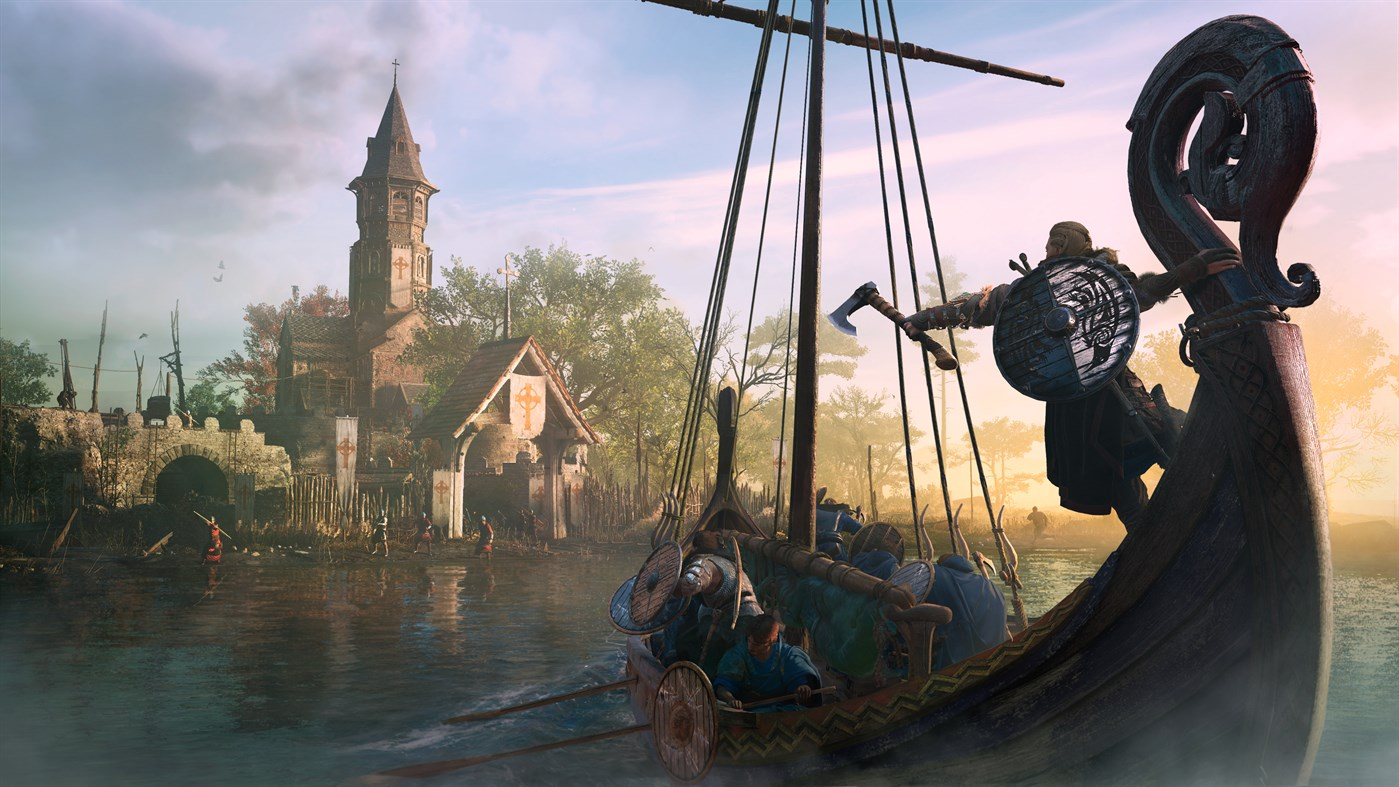 Assassin's Creed Valhalla – November 10 – Optimized for Xbox Series X S