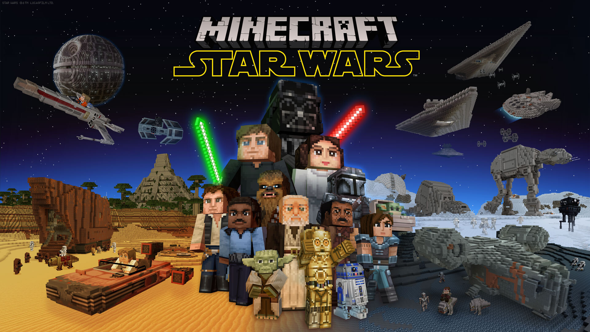 Minecraft Star Wars DLC