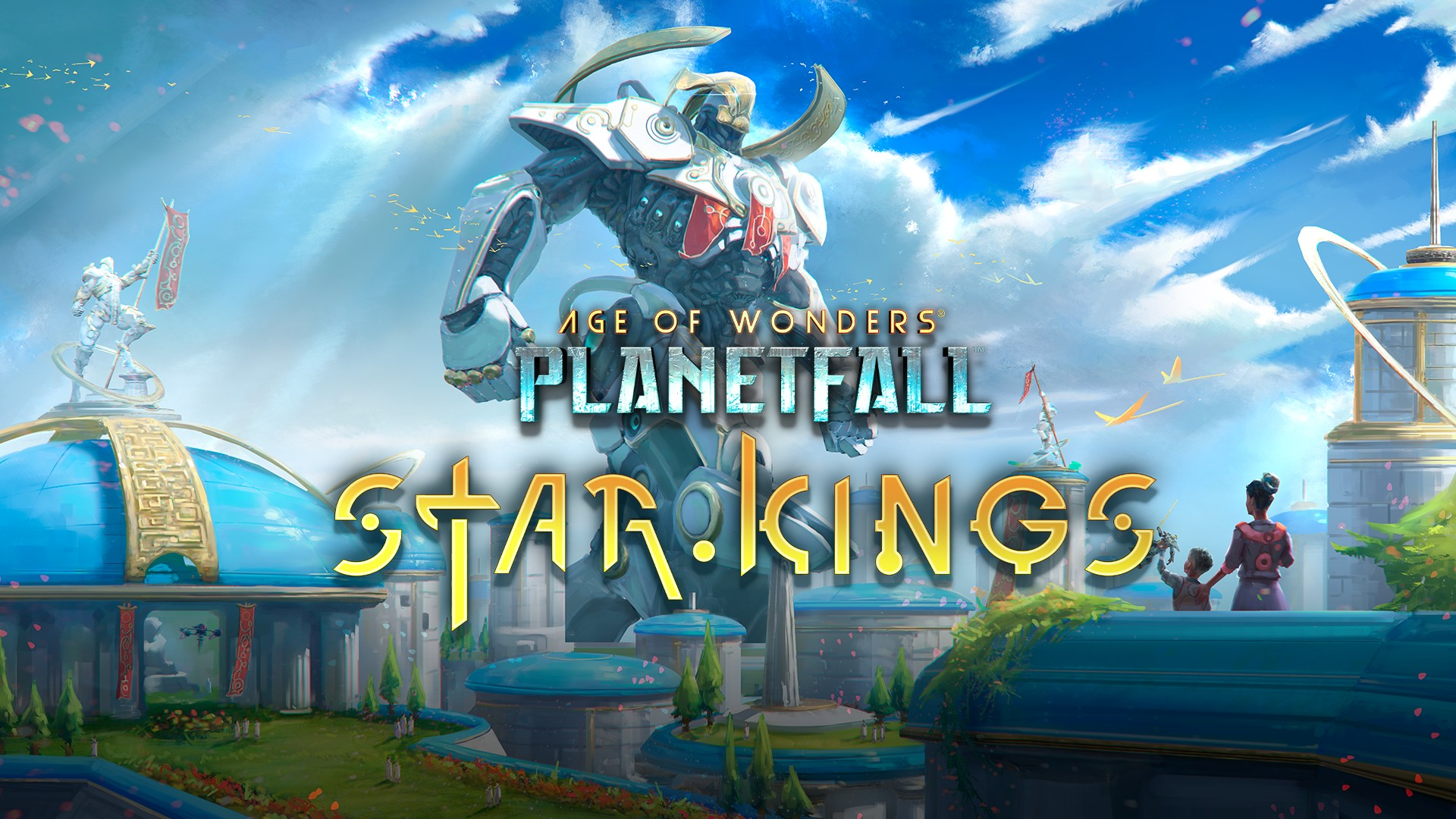 Video For Age of Wonders: Planetfall – Star Kings Introduces a Bright Future in a Bleak Universe