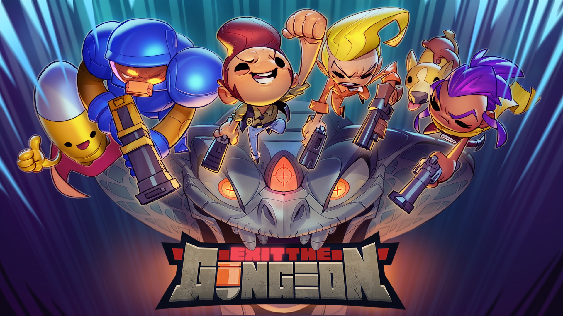 Video For Exit the Gungeon Reloads on Xbox One