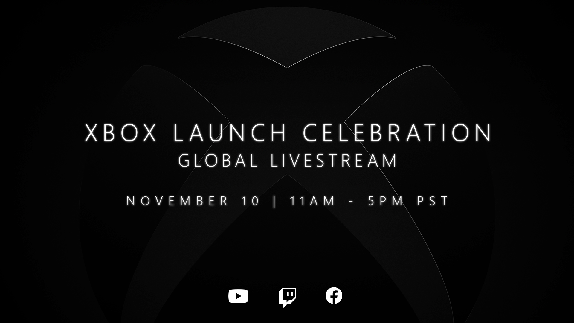 Xbox Launch Celebration Hero Image