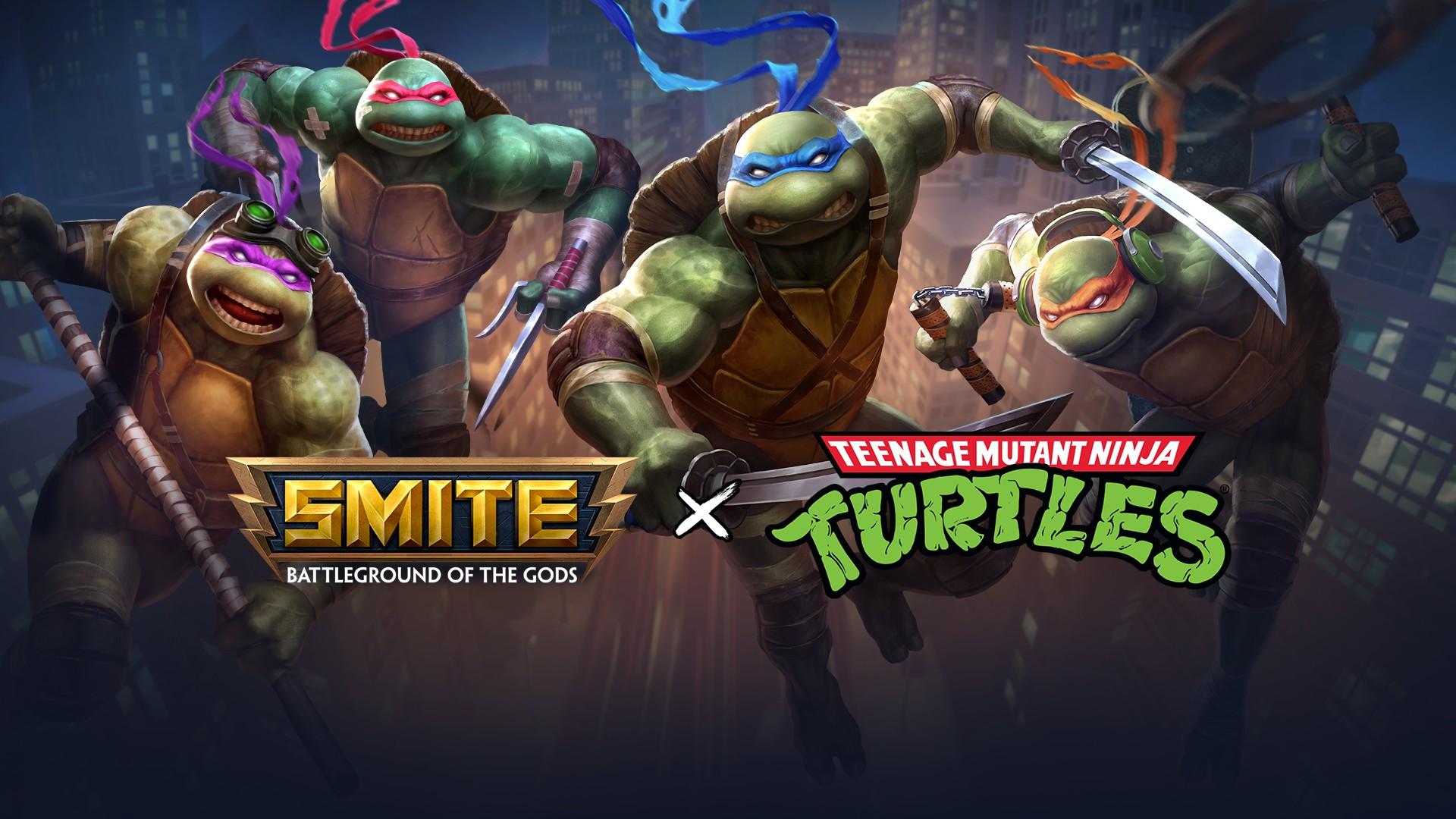 Smite x TMNT Update