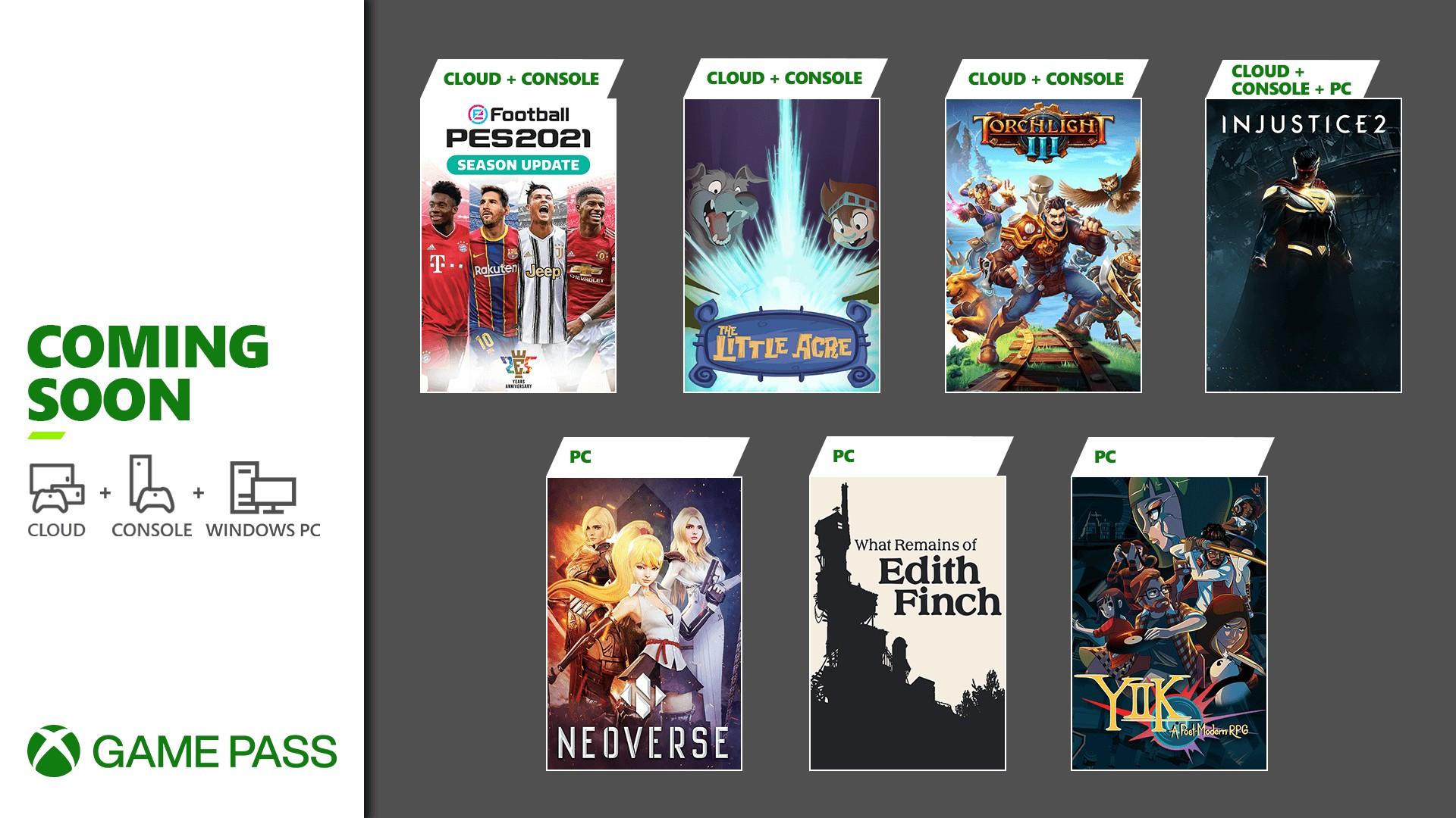 Xbox Game Pass January 2021 Update