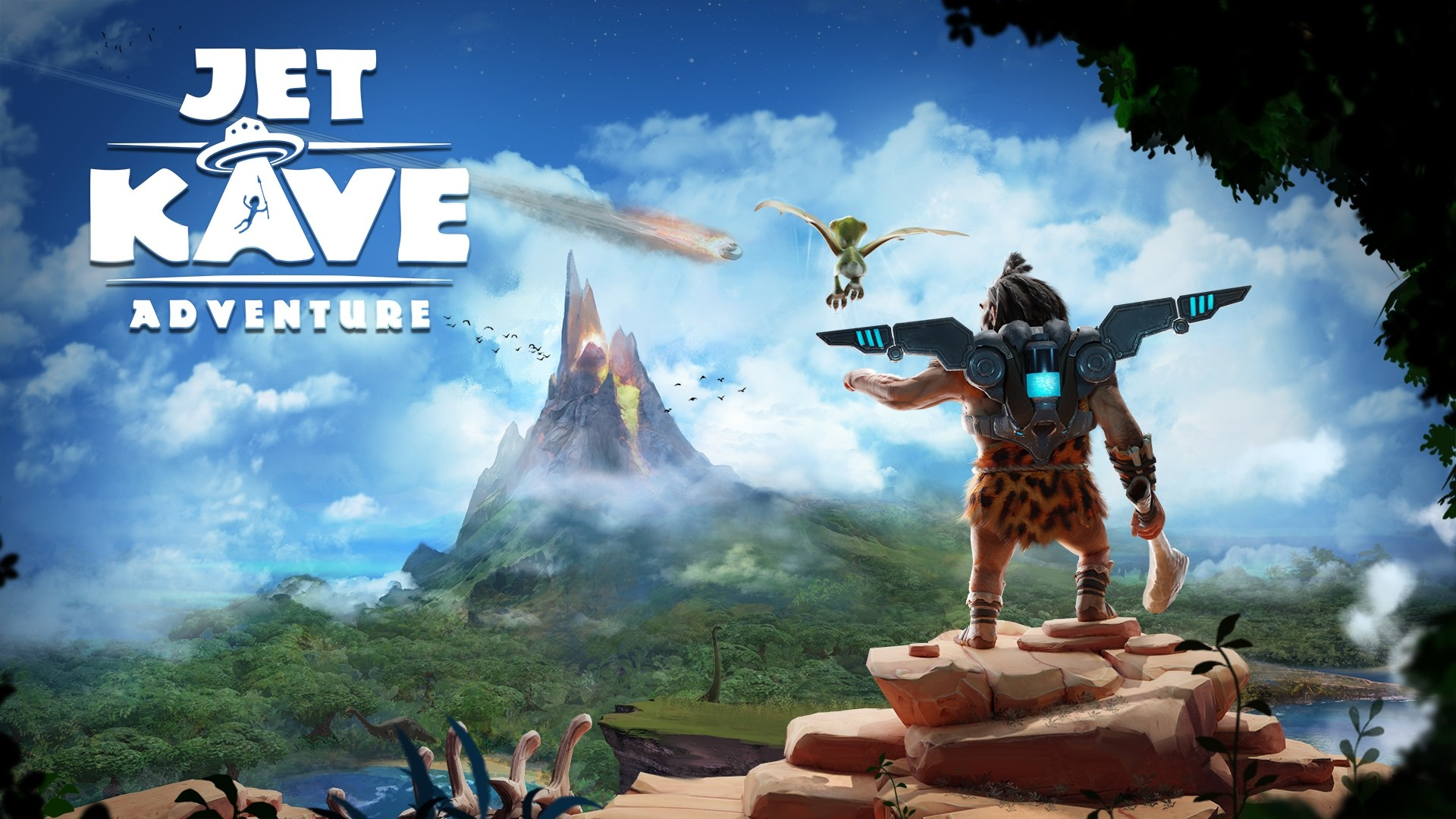 Stone-Fiction Platformer Jet Kave Adventure Now Available
