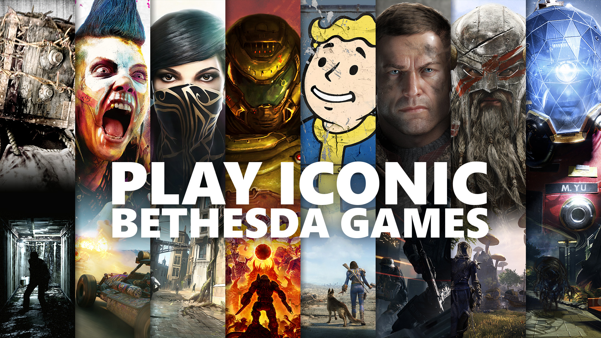 Video For 20 Bethesda Games from the World's Most Iconic Franchises Available in Xbox Game Pass Tomorrow