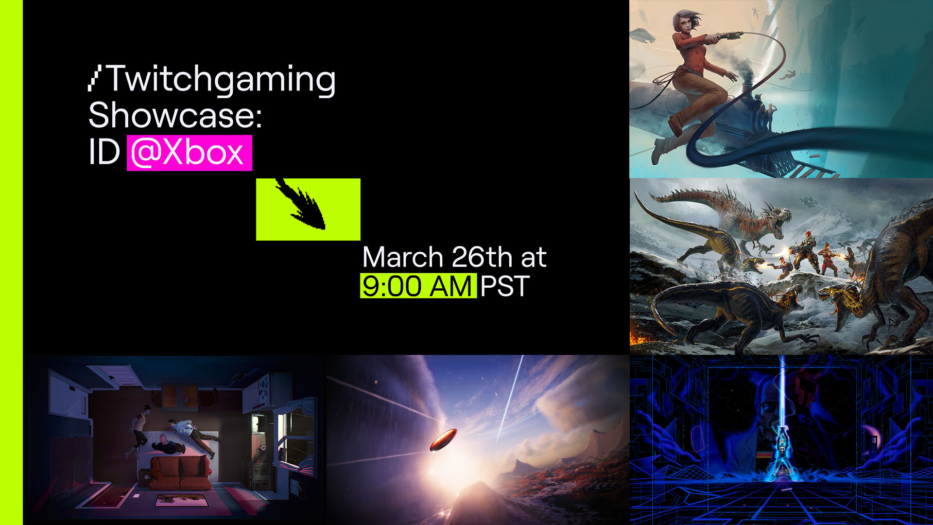 Video For ID@Xbox and Twitch Team Up for First Indie Showcase on March 26