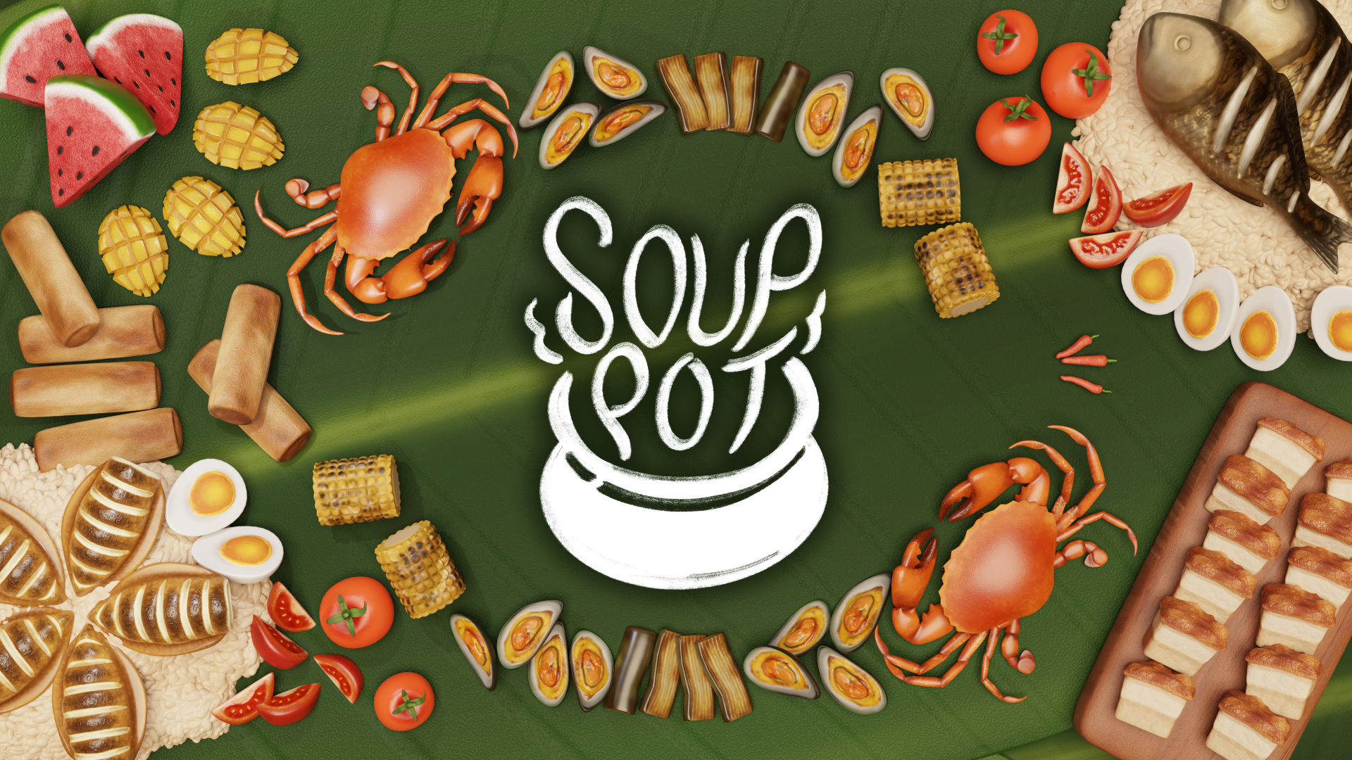 Video For Express Yourself in The Kitchen with Soup Pot This August