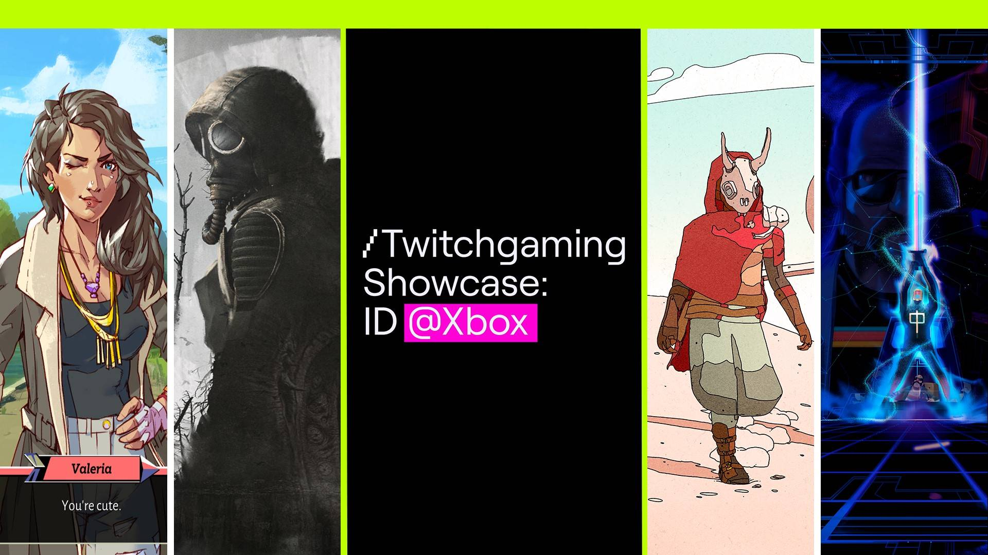 Hero asset for /twitchgaming showcase: ID@Xbox