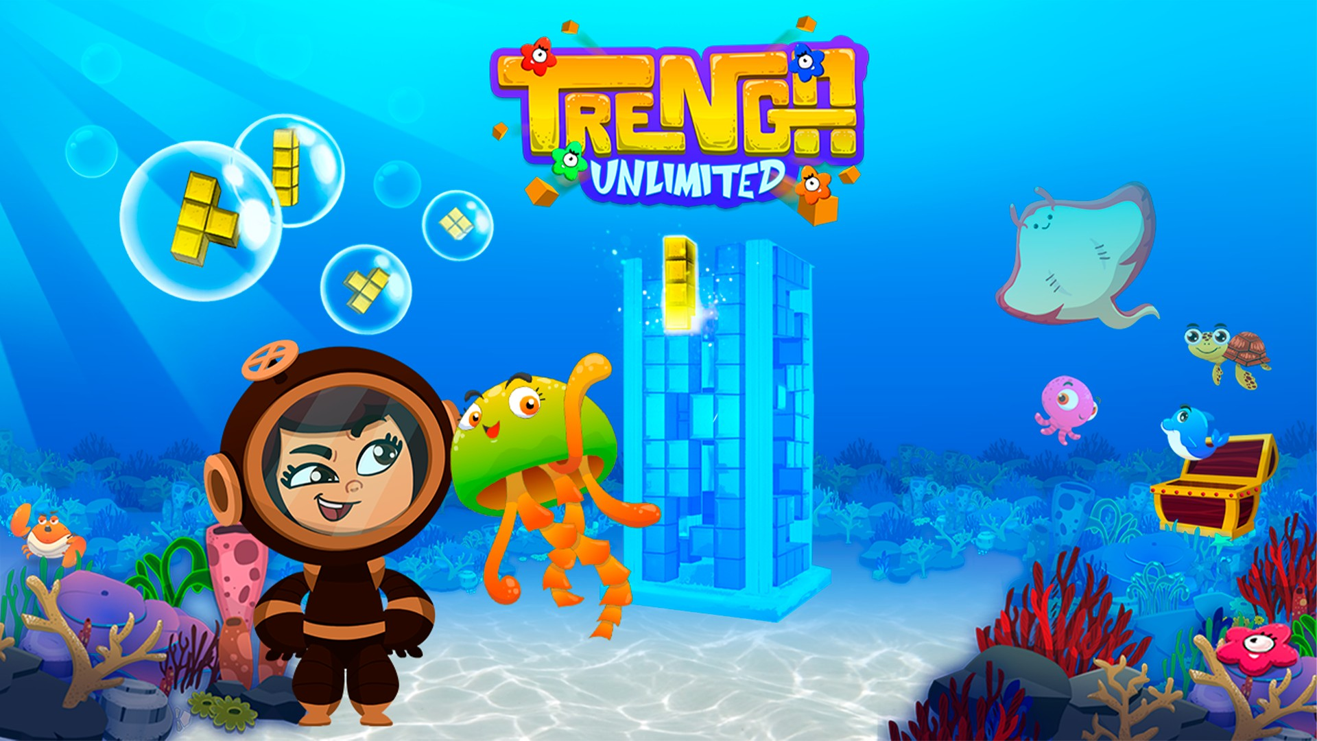 Video For Puzzle Game Trenga Unlimited Available Now for Xbox One and Xbox Series X|S