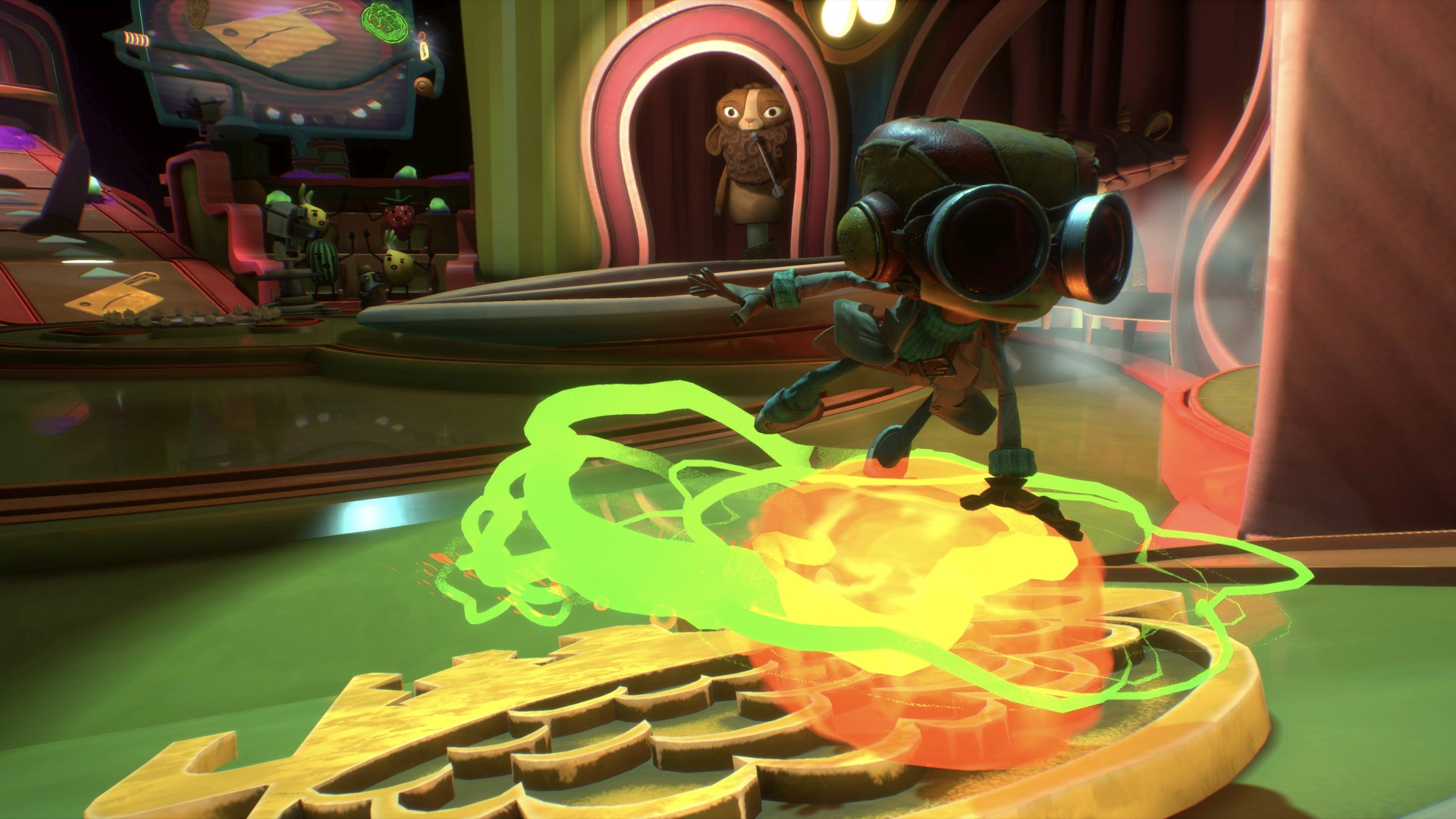 Video For Our Minds Are Playing Tricks on Us: Hands-on with Psychonauts 2