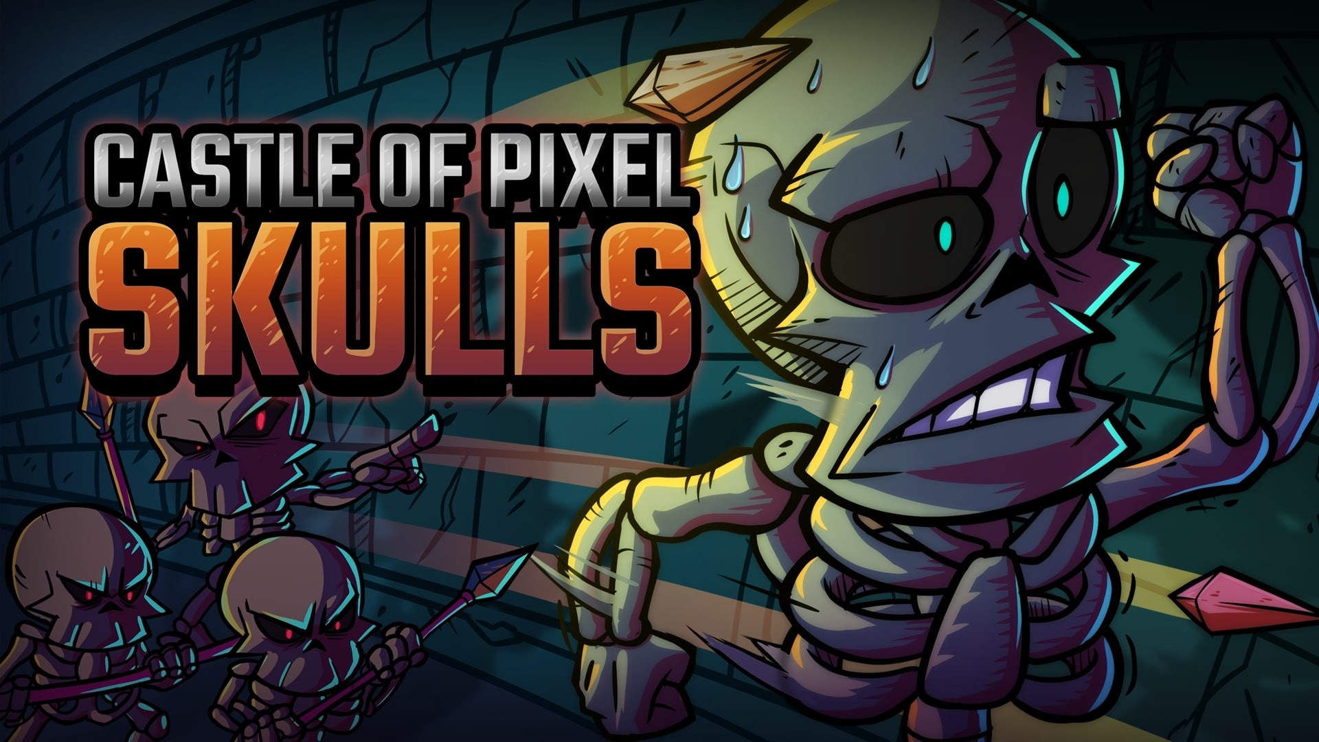 Video For Retro-Styled Platformer Castle of Pixel Skulls is Available Now