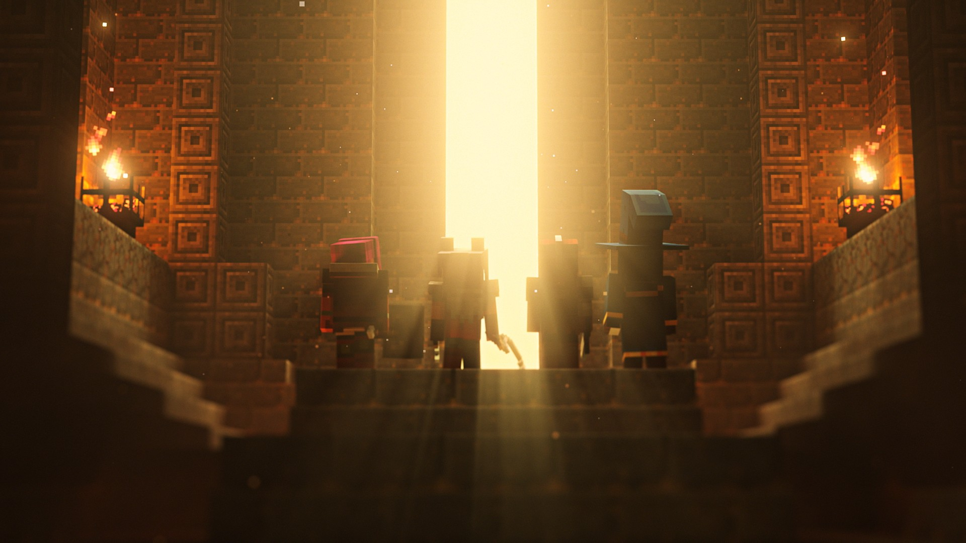 Video For Minecraft Dungeons Launches on Steam