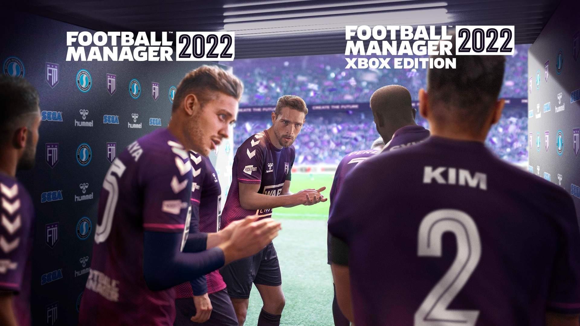 Football Manager 2022 Hero Art